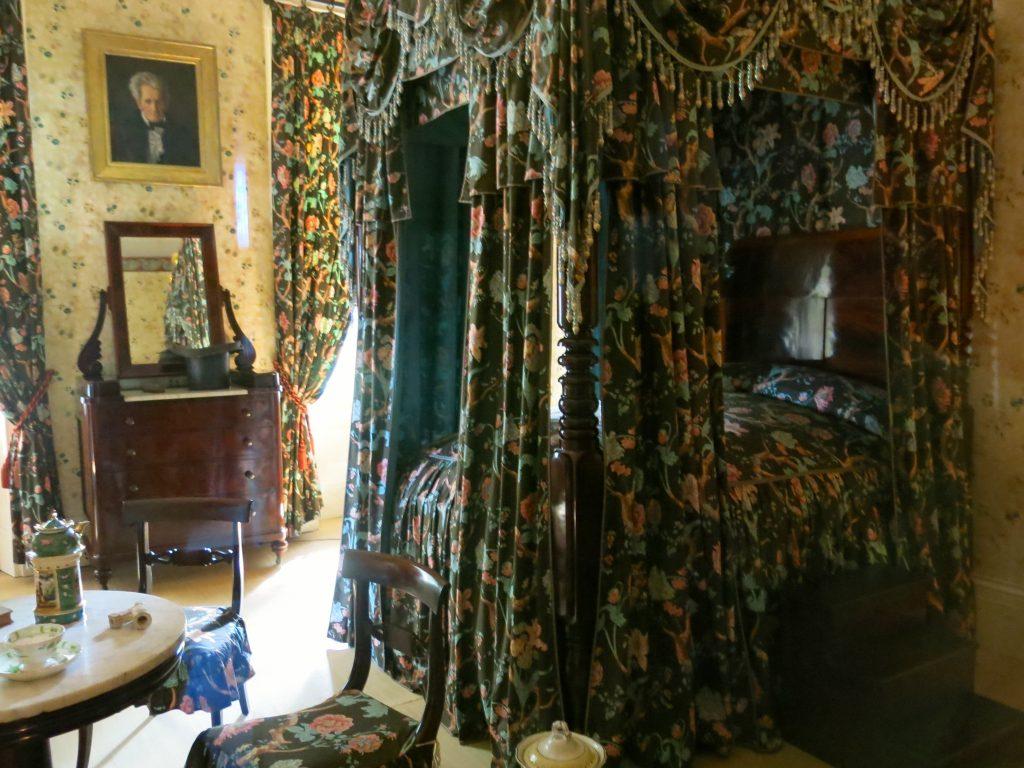 Andrew Jackson's bedroom. He died here.