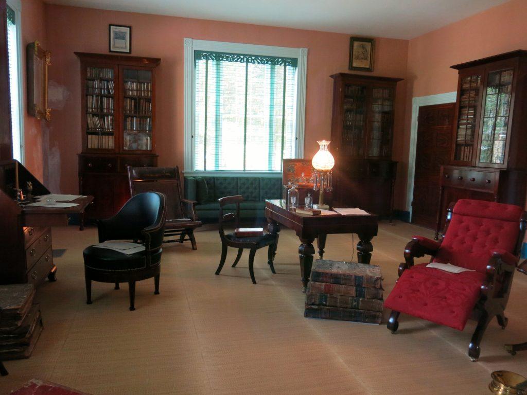 Andrew Jackson's library.