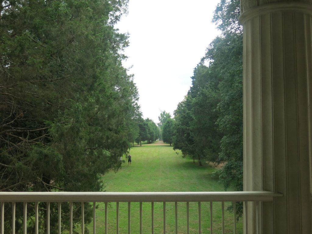 View from upstairs windows looking out on the front of the property.