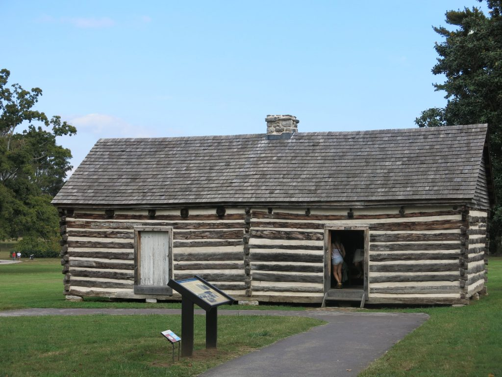 Alfred's house. What made this unusual is it sits right near the main house. Most slave quarters were set very far away. Alfred literally lived right off the main house.