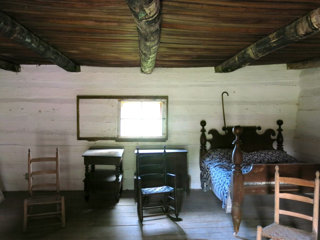 The inside of Alfred's house.