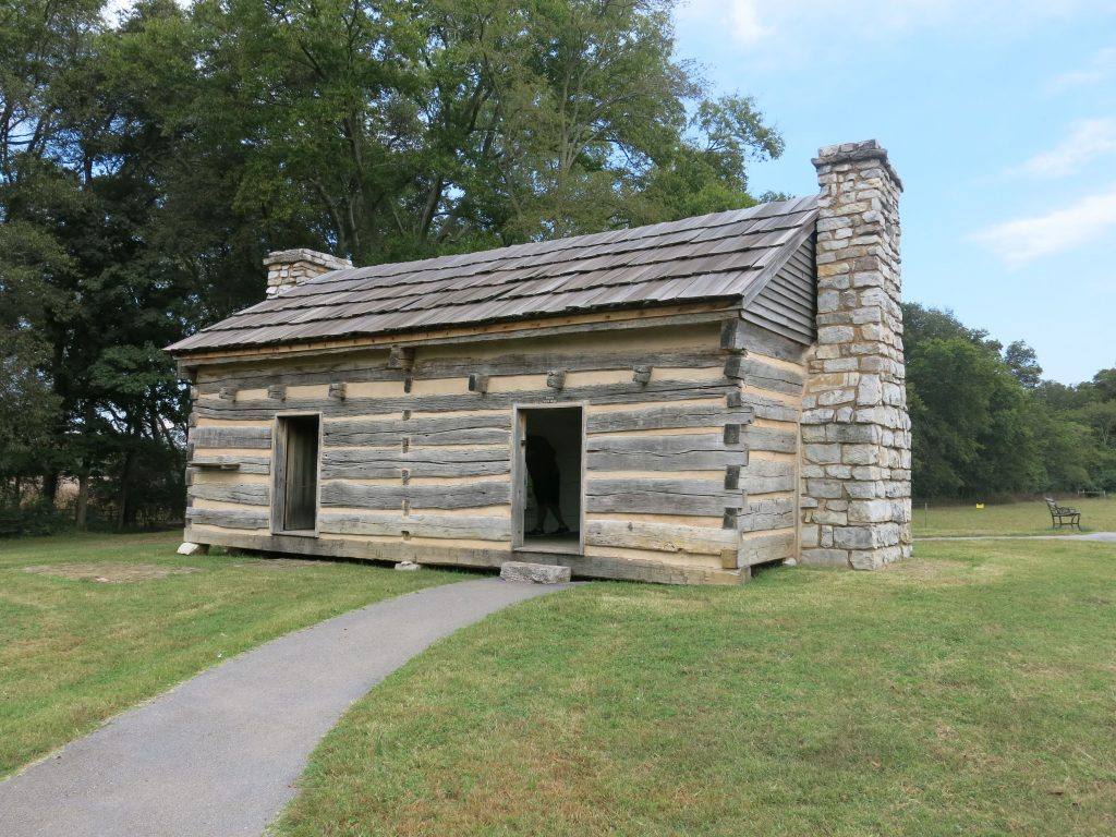 The original house lived in by Andrew and Rachel Jackson. Eventually turned into more slave housing.