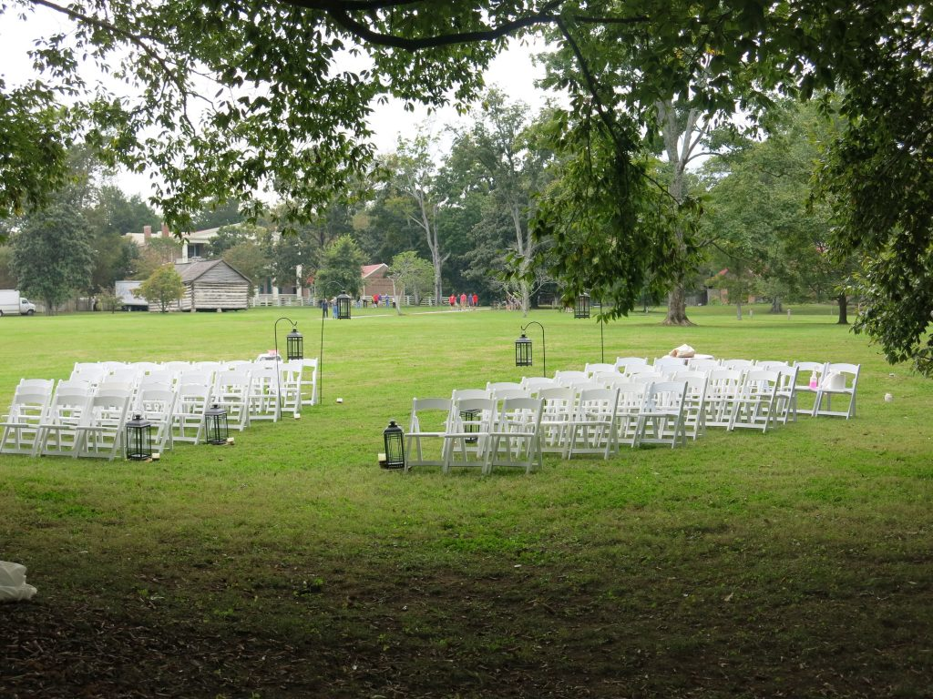 They even rent out the grounds for weddings.