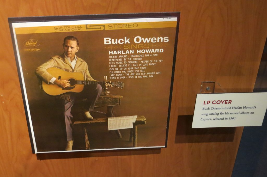 Buck Owens, West Cost sound, ruled in the 60's later starred on Hee Haw.