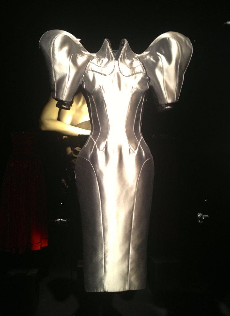 "This is ""Super Hero"" dress he designed for the Met Super Hero Show."