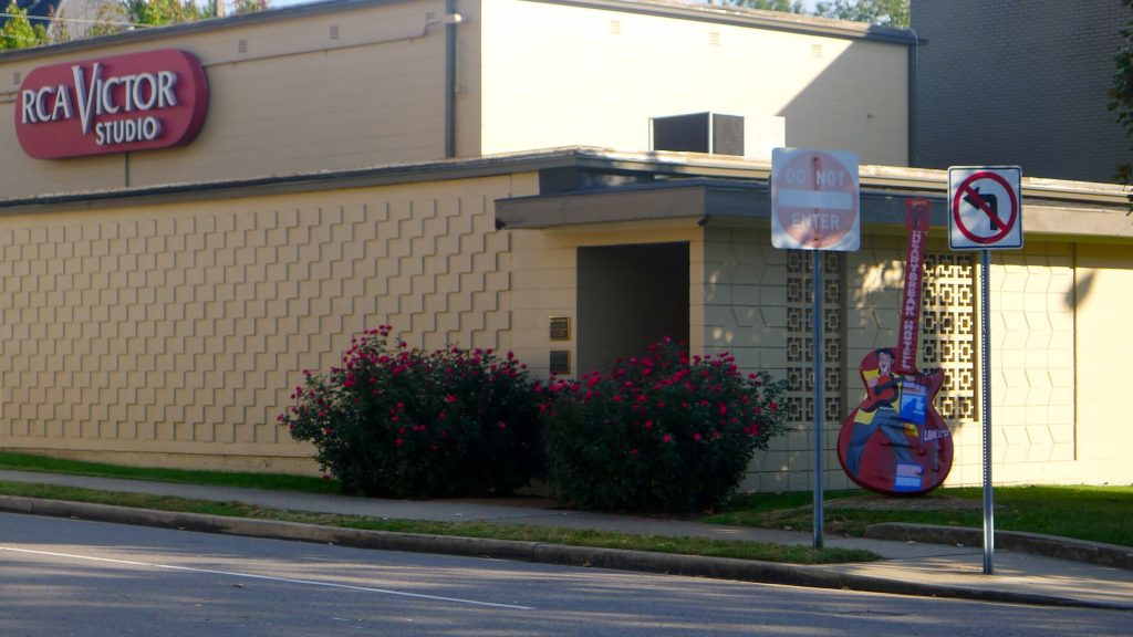 RCA's Studio B. They have a bigger place now but they keep this up for historical reasons.