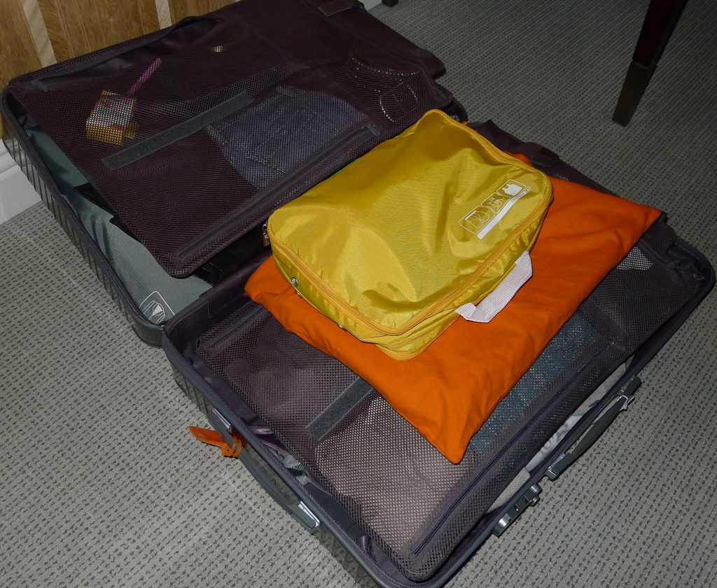 I never even unpacked. I barely opened the suitcase. This is where my spacepaks come in really handy.
