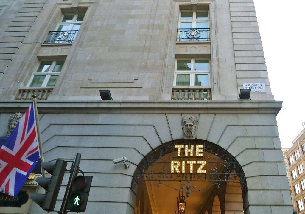 Always walk by The Ritz. I don't think I have been inside in years.