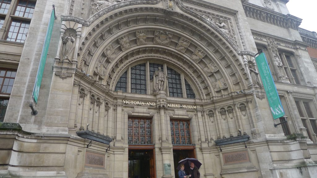 The Victoria and Albert Museum, Referred to as the V and A.