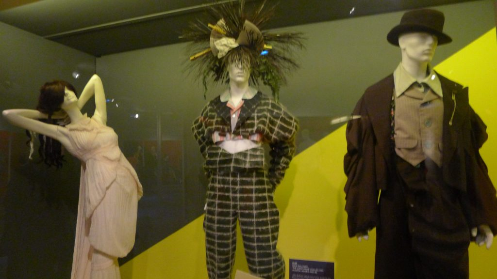 Very early John Galliano. Might have even been while he was still in fashion school.