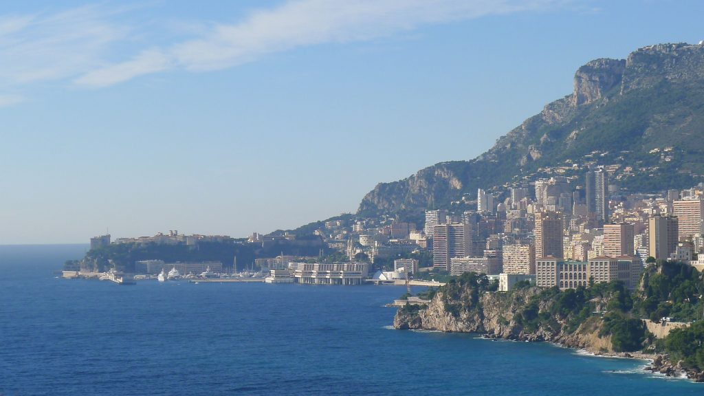 This is looking away from Menton back towards Monaco.