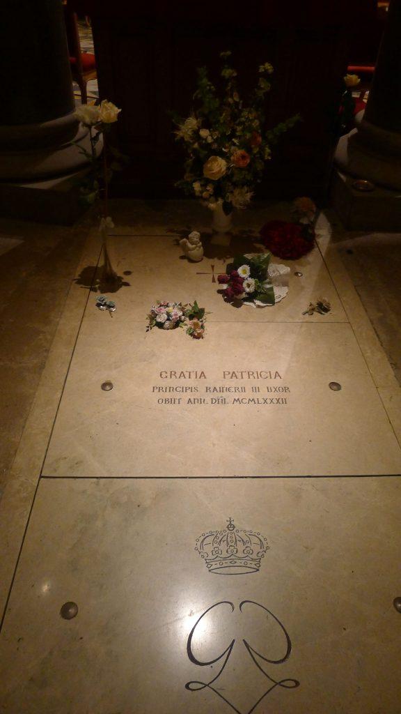 Speaking of Princesses. Here lies Grace Kelly.