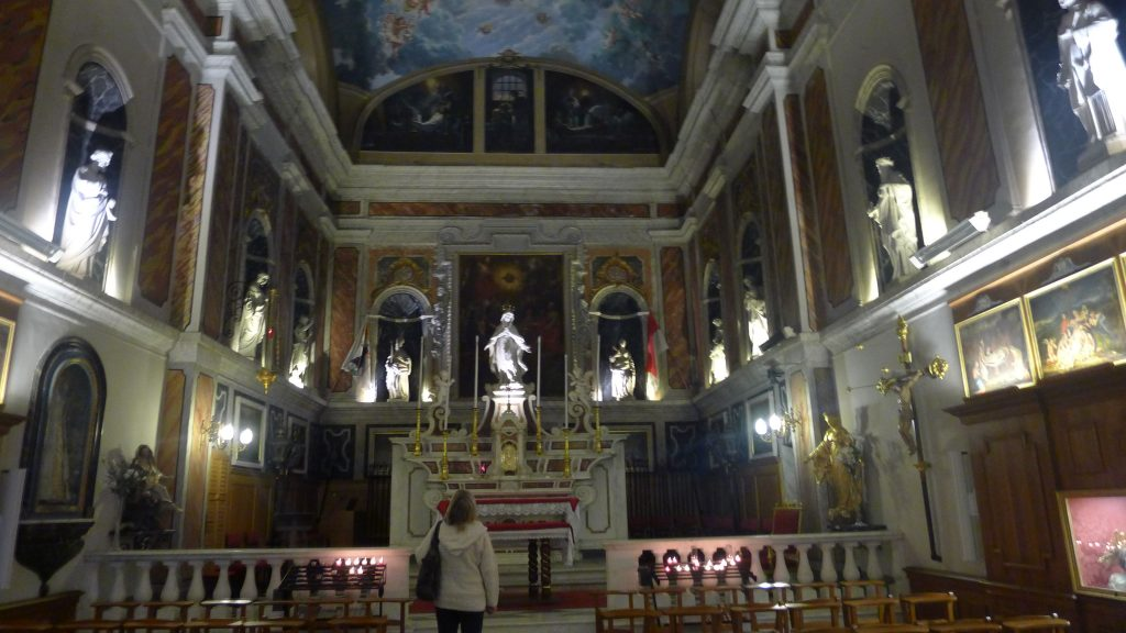 This is the oldest church in Monaco.