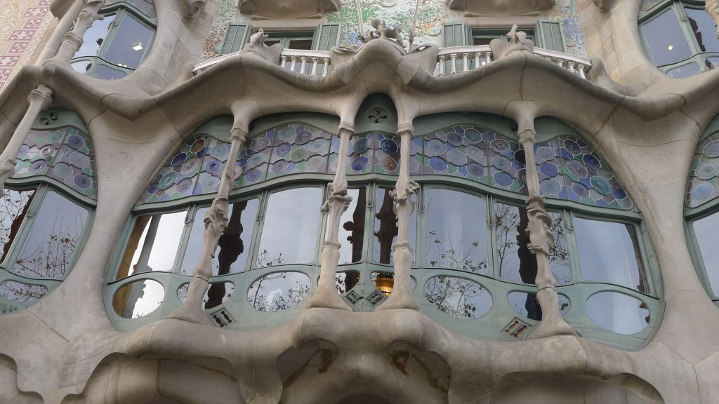 A balcony.