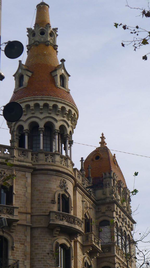 And wonderful rooftops where ever you look. I love rooftops. Must have something to do with Mary Poppins.
