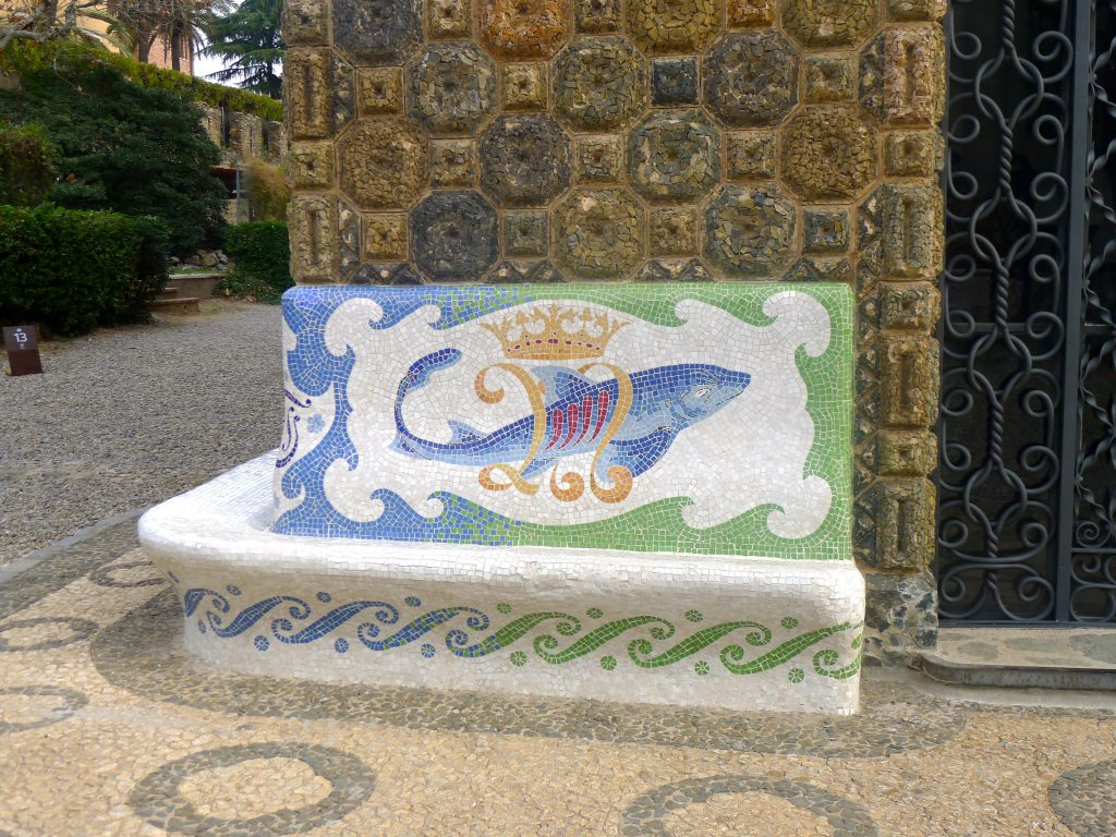 Gaudi was deeply religious the fish is a common symbol.