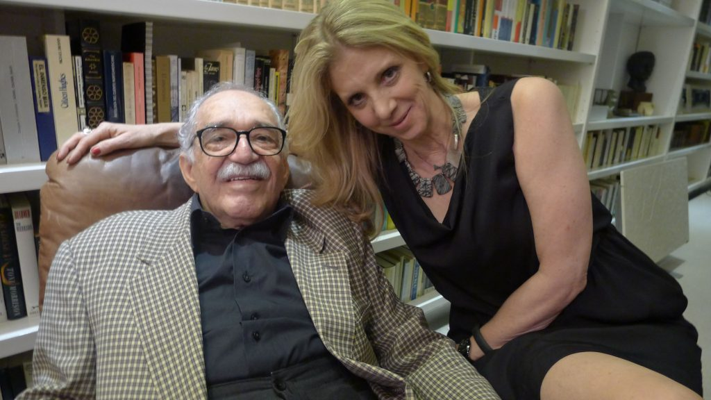 Highlight of trip - spending time with Gabriel Marquez.
