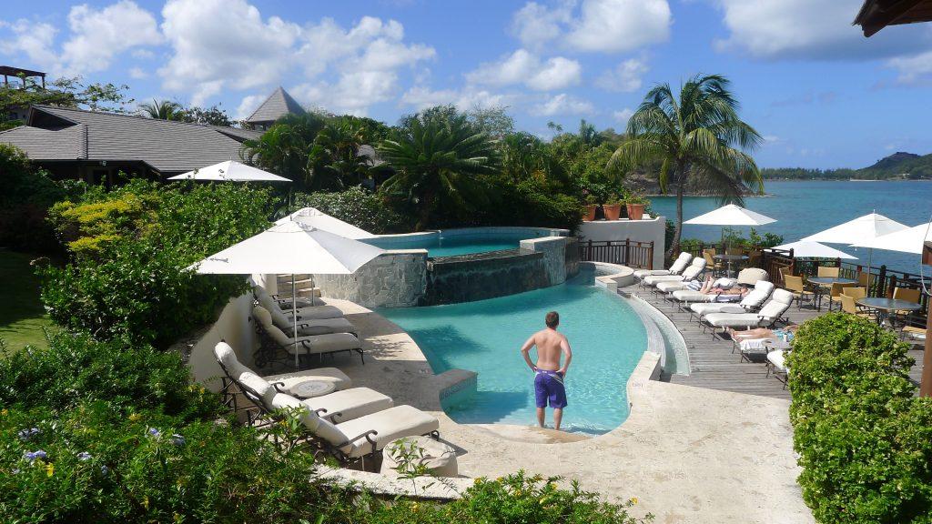 Main hotel pool.