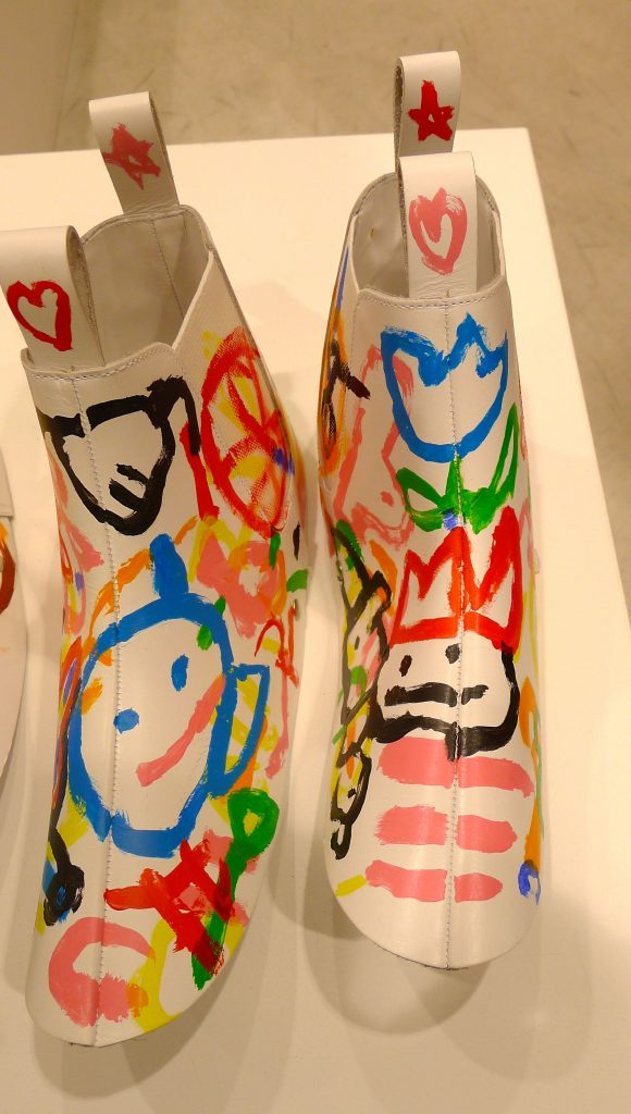 """""""My kid could paint those shoes"""""""
